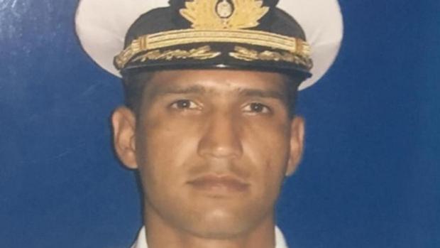 El capitán de corbeta Rafael Acosta Arévalo, asesinado por sus discrepancias con el régimen