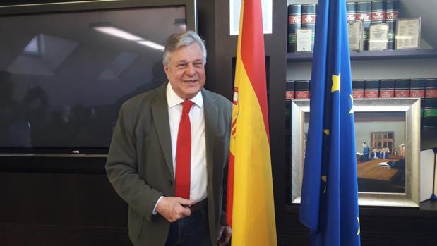 El eurodiputado Leopoldo López Gil, en una imagen reciente en Madrid