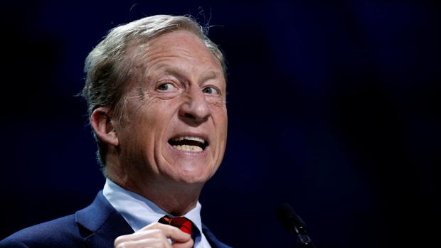 El multimillonario Tom Steyer