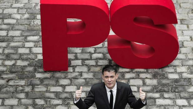 El secretario general del Partido Socialista francés. Olivier Faure