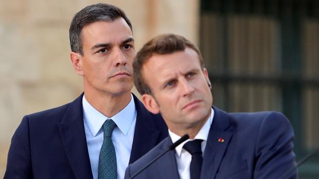 Pedro Sánchez y Emmanuel Macron, en una imagen de archivo