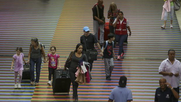 Terminal del Aeropuerto Internacional de Maiquetía