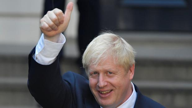 El sucesor a Theresa May como primer ministro de Reino Unido, Boris Johnson