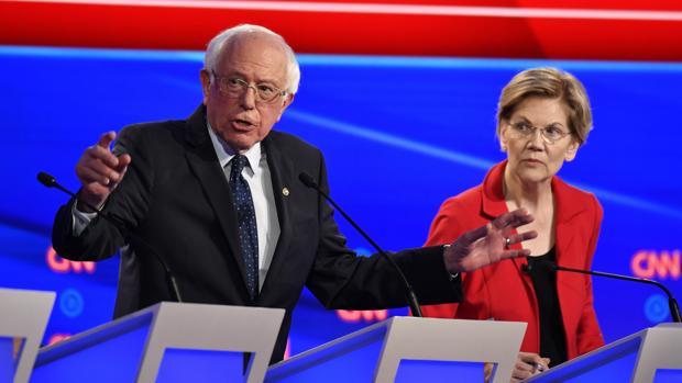 El segundo debate ahonda la división entre los demócratas