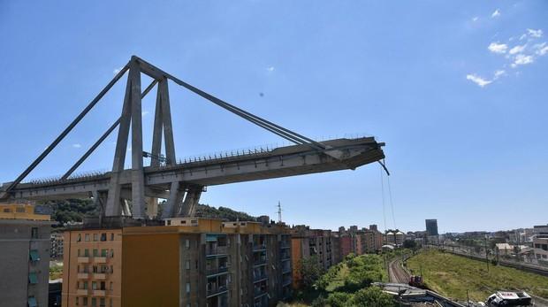 Génova recuerda a los 43 fallecidos del derrumbe del puente de Morandi hace un año