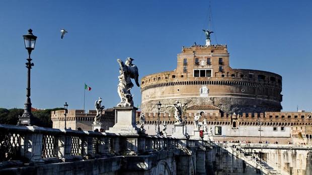Foto de archivo de Roma, capital de Italia