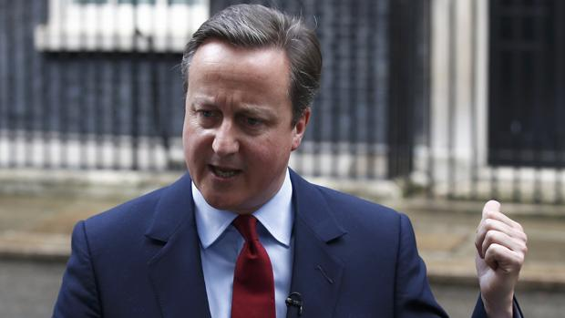 El ex primer ministro del Reino Unido, David Cameron