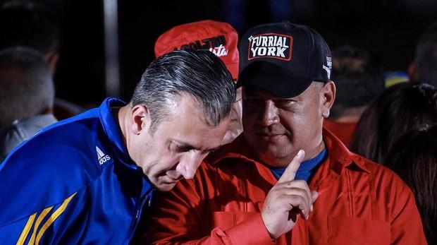 Tareck El Aissami y Diosdado Cabello, en una imagen de archivo