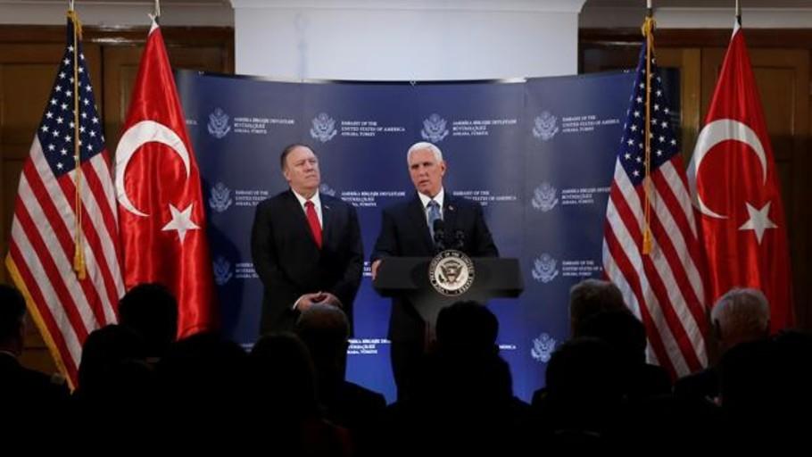 Trump arranca a Erdogan un alto el fuego en Siria