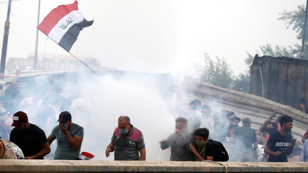 Al menos 24 muertos y más de 2.000 heridos en las protestas en Irak