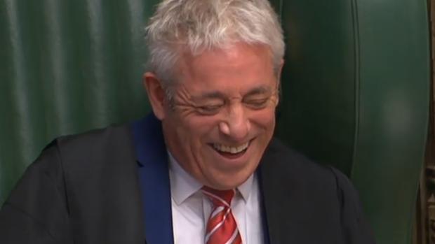 La Cámara de los Comunes se despide del «speaker» Bercow y sus famosos «¡Orden, orden!»