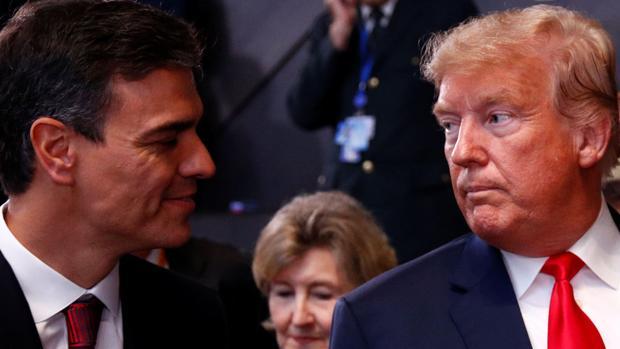 Estados Unidos estudia sanciones económicas a España por la supuesta ayuda de Sánchez a Maduro
