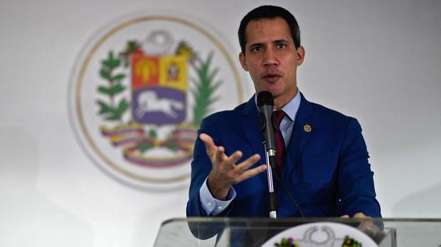 Image de archivo de Juan Guaidó