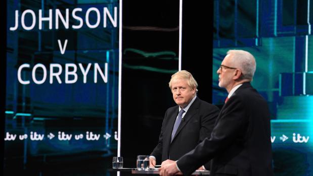 ¿Quién ganó el debate entre Johnson y Corbyn?