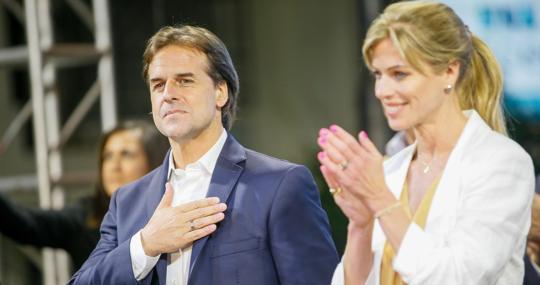 Lacalle Pou se suma a la mayoría liberal de presidentes en Sudamérica