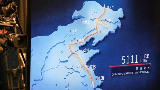 Putin y Xi Jinping inauguran el primer gaseoducto entre Rusia y China