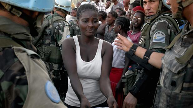 Haití: «Los cascos azules dejaron embarazadas a nuestras chicas y las abocaron a la miseria»