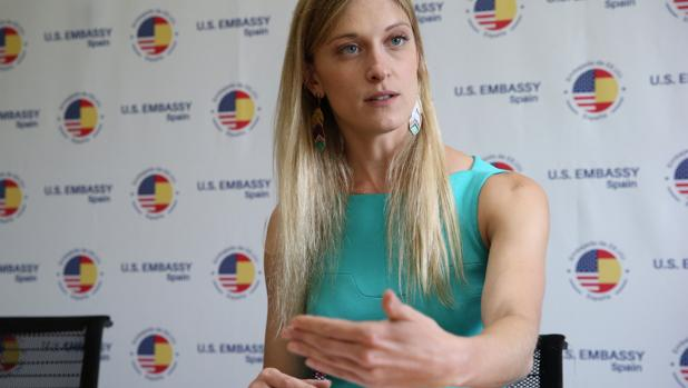 Carrie Filipetti: «Esperamos que el Gobierno de España mantenga su apoyo a Juan Guaidó»