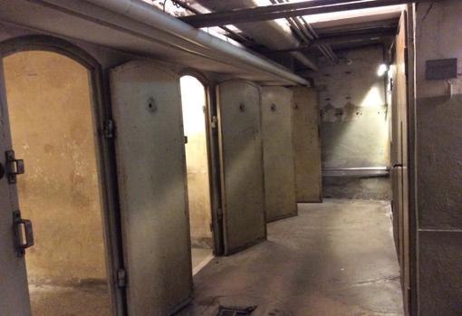 Varias de las celdas para los detenidos en el cuartél general de la Gestapo, en el edificio EL-DE, en Colonia