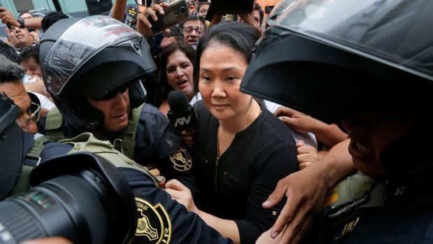 Keiko Fujimori regresa a prisión por blanqueo de dinero y obstrucción a la Justicia