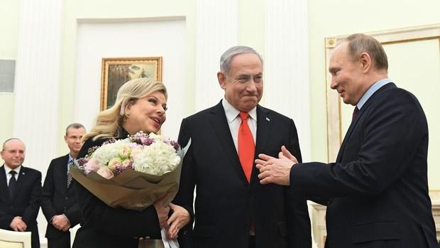 Netanyahu presenta a Putin en Moscú el plan de paz de Trump sobre el conflicto palestino