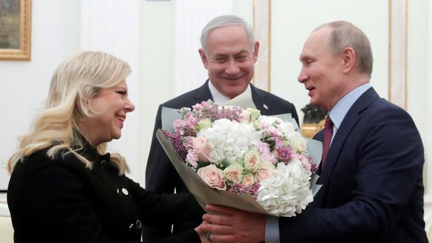 Netanyahu llega a Moscú para presentar a Putin el plan de paz de Trump sobre el conflicto palestino