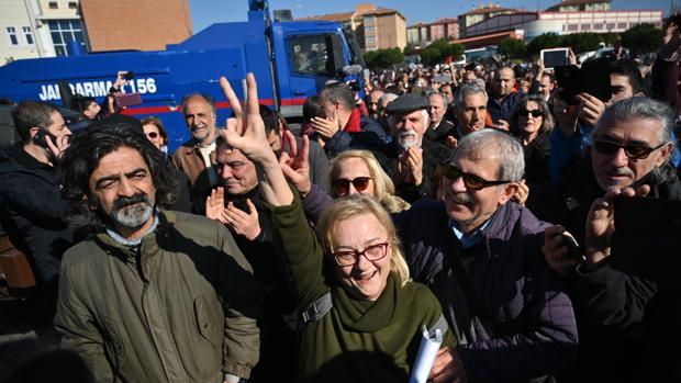 La Justicia turca declara inocentes a los acusados de las protestas contra Erdogan de 2013