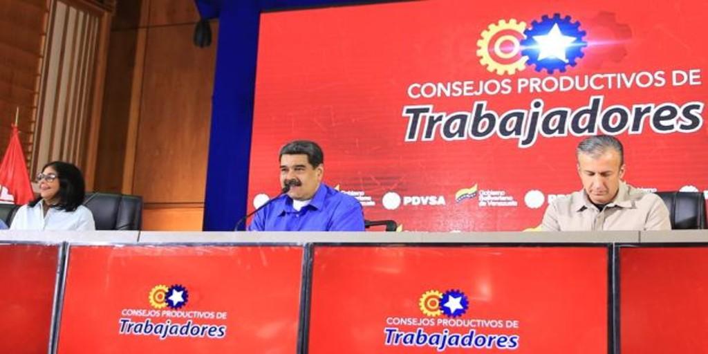 Maduro declara a la petrolera PDVSA en emergencia y nombra a un vicepresidente como gestor