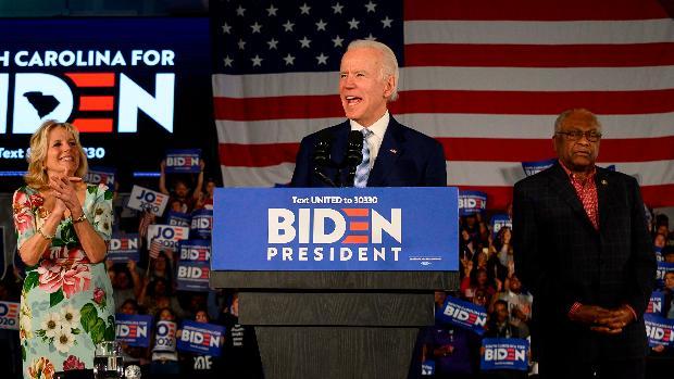 Biden resucita su campaña con una victoria arrolladora en Carolina del Sur