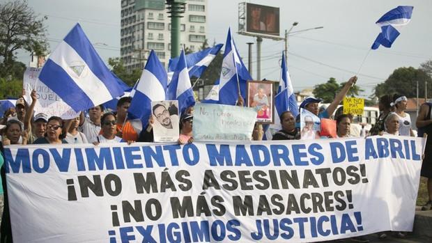 La lucha de las Madres de Abril contra la impunidad y el olvido en Nicaragua