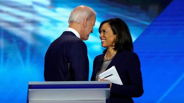 Kamala Harris se une a Biden y le refuerza todavía más en la minoría negra