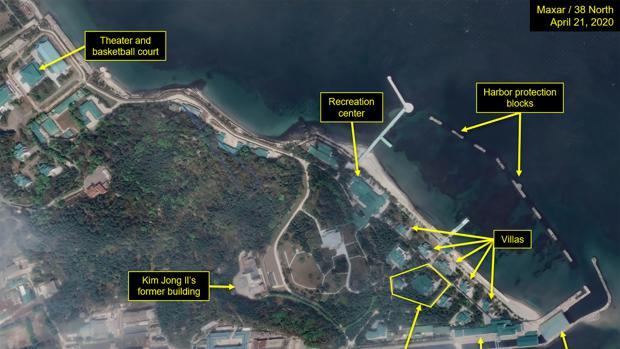 Localizan por satélite el supuesto tren de Kim Jong-un estacionado en un exclusivo resort norcoreano