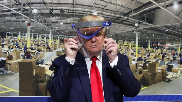 Trump se niega a ponerse mascarilla en público: «No quiero darle ese gusto a la prensa»