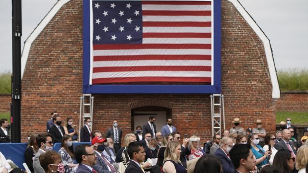 Trump rescata del olvido la guerra que EE.UU. no ganó pero inspiró su himno nacional