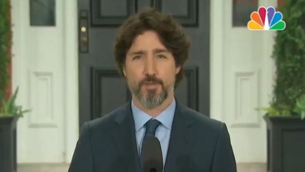 Los 21 segundos de silencio de Trudeau antes de responder a una pregunta sobre Trump