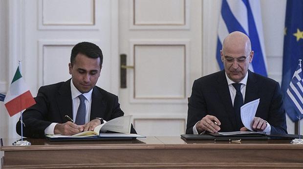 Grecia e Italia suman fuerzas para evitar que Turquía explote la plataforma continental helena