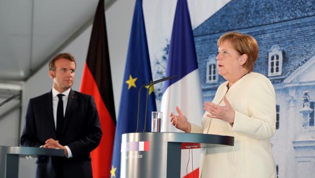 Merkel y Macron presionarán para que el nuevo Fondo de la UE esté aprobado ya en julio