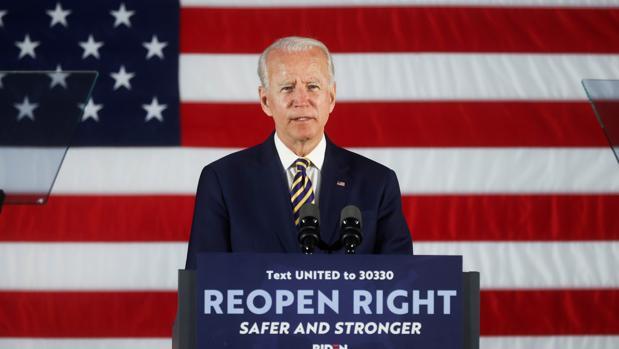 Biden se parapeta en el Covid-19: «No haré mítines de campaña»
