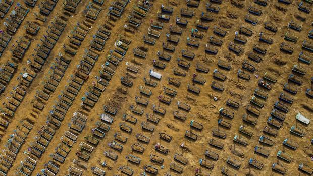 América Latina supera a EE.UU. en número de fallecidos por Covid-19