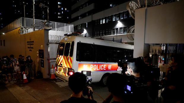 Cuatro detenidos en Hong Kong por un mensaje independentista en internet