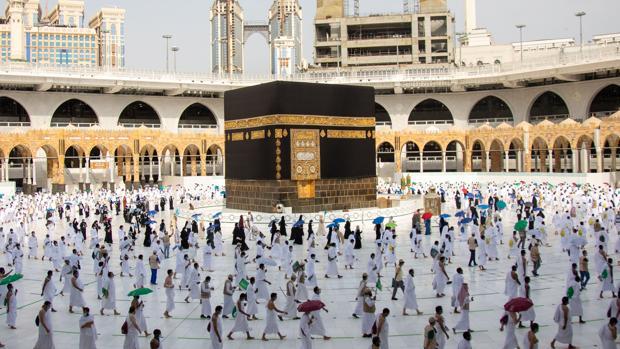 Los 10.000 elegidos de Alá para peregrinar a La Meca
