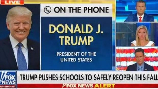 Twitter y Facebook castigan a Trump por afirmar que los niños son «casi inmunes» al Covid-19
