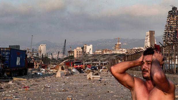 Alrededor de 80.000 niños se han visto desplazados a por las explosiones en Beirut