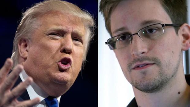 Trump se plantea indultar a Snowden