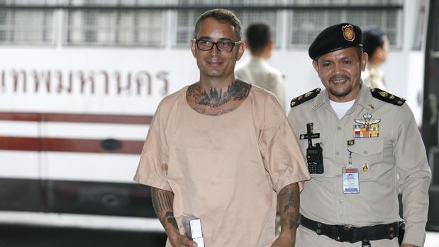 Conmutada la pena de muerte al español Segarra por su atroz crimen en Tailandia