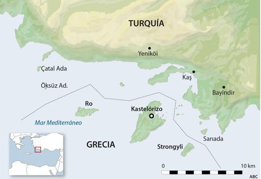 Kastelorizo, la piedra en el zapato de Turquía