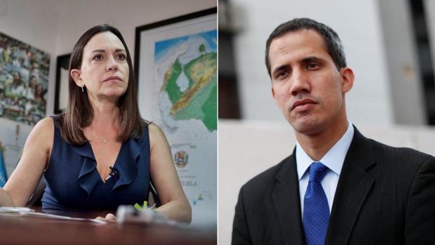 María Corina rechaza la propuesta de Guaidó para unir a la oposición
