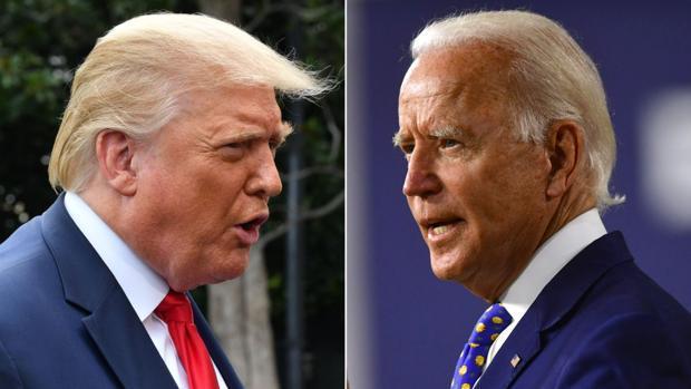 El error 404 de la página de campaña de Trump también ataca a Biden: «Estás  tan perdido como yo»