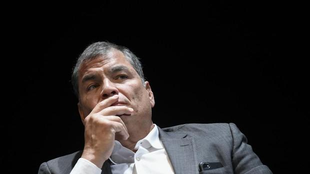 Rafael Correa, sentenciado a ocho años de prisión por corrupción y no podrá ser candidato