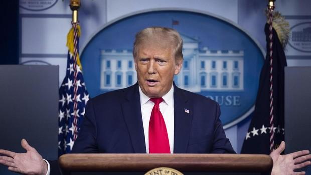 Trump dice que España «lo está pasando mal» por la Covid mientras EE.UU. mejora